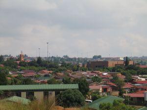 Orlando Westin kaupunginosa Sowetossa.
