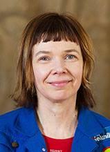 Terhi Ainiala, suomen kielen dosentti, yliopistonlehtori
